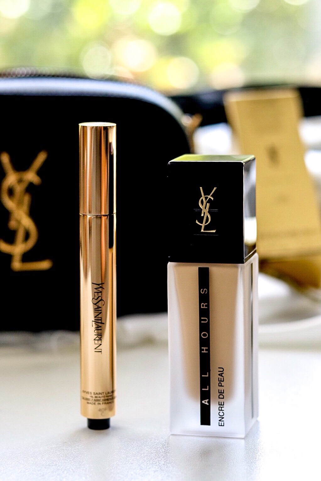 YSL, YSL Foundation, YSL Makeup, foundation review, makeup review, review, Yves Saint Lauren, Makeup