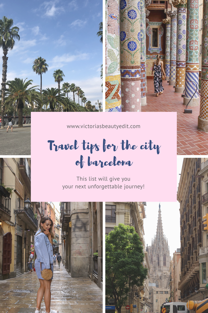 My Travel Guide For the City of Barcelona